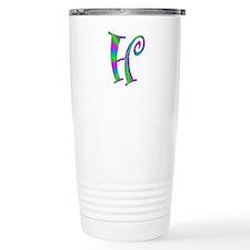 H Monogram Travel Mug