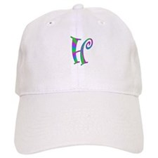H Monogram Baseball Cap