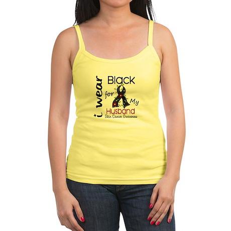 I Wear Black 43 Skin Cancer Jr. Spaghetti Tank