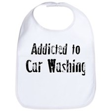 Addicted to Car Washing Bib