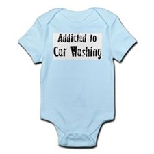 Addicted to Car Washing Infant Creeper