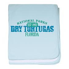 Dry Tortugas National Park FL baby blanket