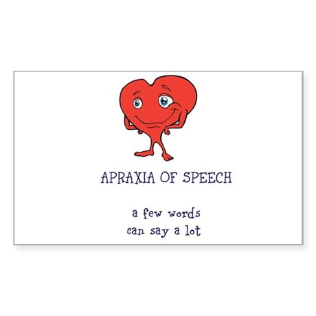 Apraxia Of Speech Decal By SpecialVoices