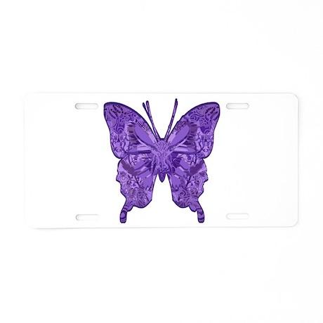 Blu Bottega Aluminum License Plate