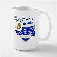 Uruguayan Princess Large Mug