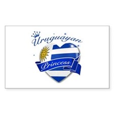 Uruguayan Princess Decal
