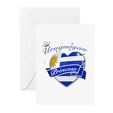Uruguayan Princess Greeting Cards (Pk of 10)