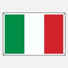 Flag of Italy Banner