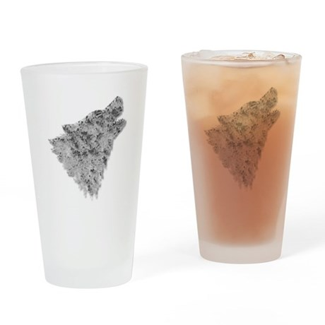 The Wolf Drinking Glass