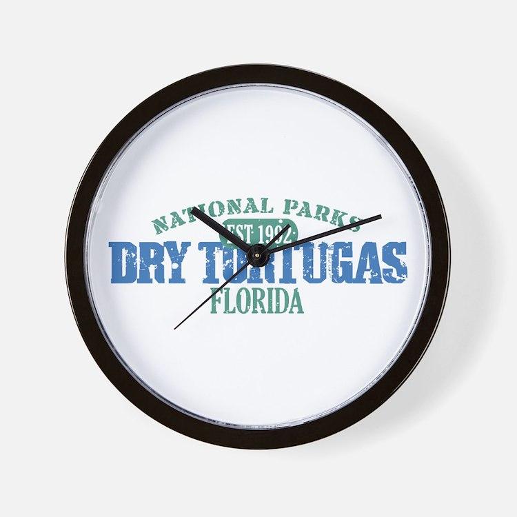 Dry Tortugas National Park FL Wall Clock