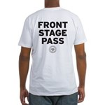 Front Stage Pass Fitted T-Shirt