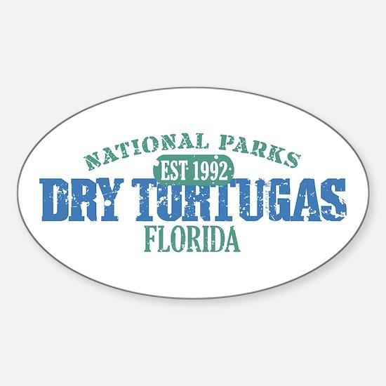 Dry Tortugas National Park FL Sticker (Oval)