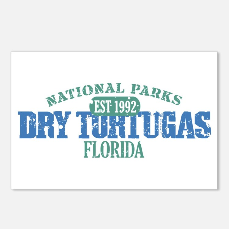 Dry Tortugas National Park FL Postcards (Package o