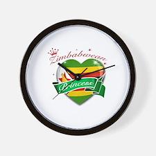 Zimbabwean Princess Wall Clock
