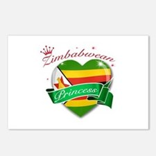 Zimbabwean Princess Postcards (Package of 8)