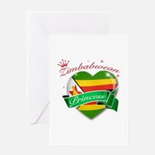 Zimbabwean Princess Greeting Card