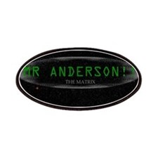 mr anderson the matrix Patches