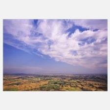 Clouds over a landscape, Steptoe Butte, Palouse Co