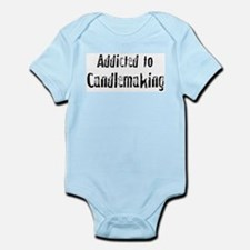 Addicted to Candlemaking Infant Creeper