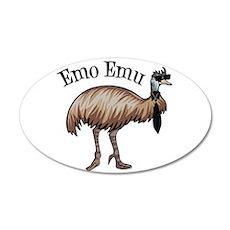 Emo Emu Wall Decal