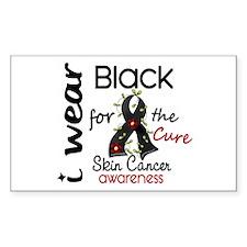 I Wear Black 43 Skin Cancer Decal