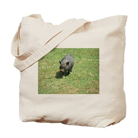 Pot Bellied Pig Tote Bag