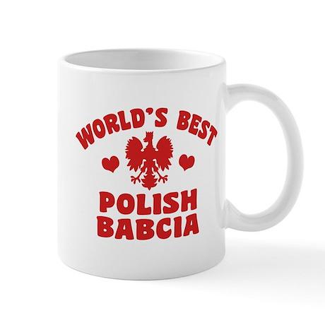 World's Best Polish Babcia Mug
