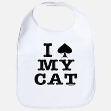 I Spade My Cat Bib