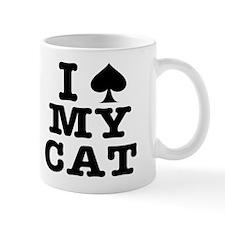 I Spade My Cat Small Mug