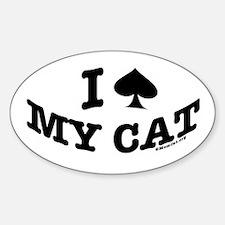 I Spade My Cat Decal