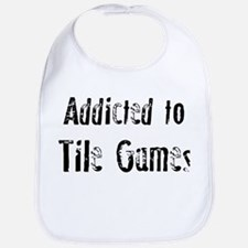 Addicted to Tile Games Bib