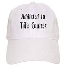 Addicted to Tile Games Baseball Cap