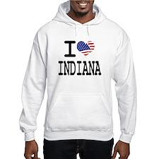 I LOVE INDIANA Hoodie