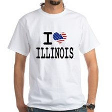 I LOVE ILLINOIS Shirt