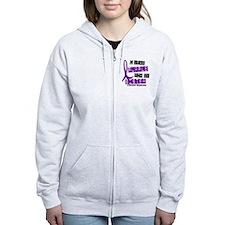 I Wear Purple 37 Epilepsy Zip Hoodie