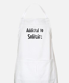 Addicted to Solitaire BBQ Apron