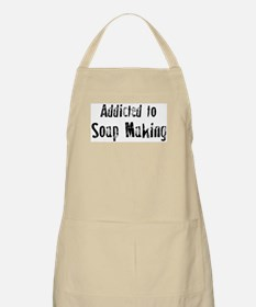 Addicted to Soap Making BBQ Apron