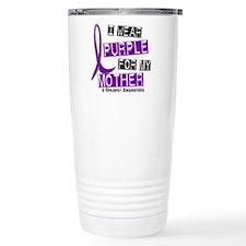 I Wear Purple 37 Epilepsy Travel Mug