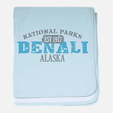 Denali National Park Alaska baby blanket