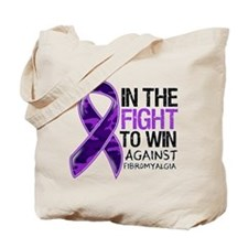 In The Fight Fibromyalgia Tote Bag