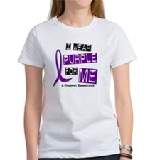 I Wear Purple 37 Epilepsy Tee