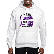 I Wear Purple 37 Epilepsy Hoodie