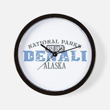 Denali National Park Alaska Wall Clock