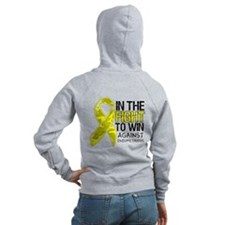 In The Fight Endometriosis Zip Hoodie