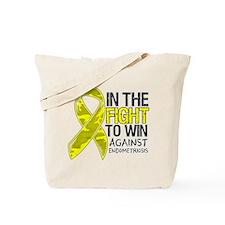 In The Fight Endometriosis Tote Bag