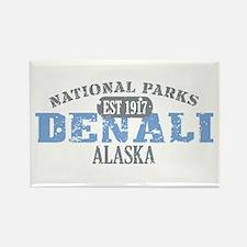 Denali National Park Alaska Rectangle Magnet