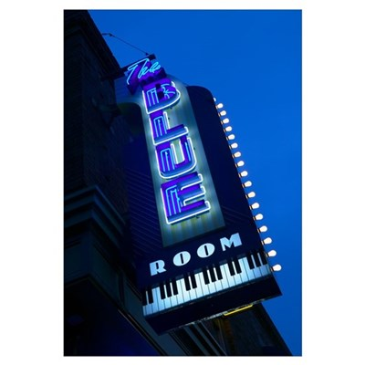 The Blue Room Jazz Club, 18th and Vine Historic Ja Framed Print