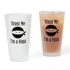 Trust me, I'm a Ninja Drinking Glass