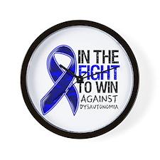 In The Fight Dysautonomia Wall Clock