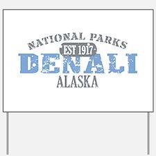 Denali National Park Alaska Yard Sign